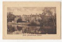 York Bishopthorpe Palace Yorkshire Vintage Postcard 901b