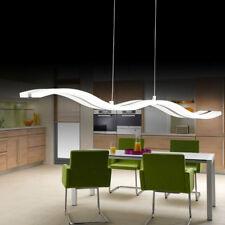 36W lampadario moderno LED da soffitto sospensione luce del pendente Bar onda