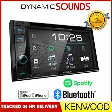 "Kenwood DDX4019DAB Double Din 6.2"" Bluetooth DAB Radio DVD CD MP3"