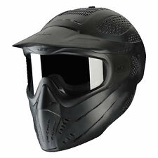 JT Premise Headshield Single Pane Goggle - Black - Paintball