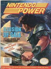Magazine NINTENDO POWER Volume 65 Illusion of Gaia w/ Poster & Cards