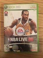 EA SPORTS NBA LIVE 08 - XBOX 360 - NO MANUAL - FREE S/H - (LL)