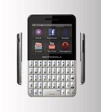 Motorola  EX-119 - Black - White - Mobile Phone