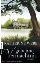 Das geheime Vermächtnis Katherine Webb Taschenbuch NEU