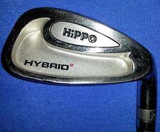 HIPPO  HYBRID 2  PITCHING WEDGE  RH  Stiff Flex  Steel Shaft