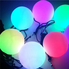 LED Multi-Colour Glow POI Thrown Ball Light up For Belly Dance Hand Props