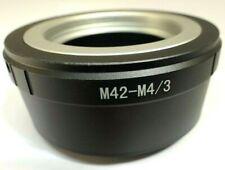 M42 Universal screw Lens mount adapter ring M4/3 GH5 Panasonic E-PL2 OM-D camera