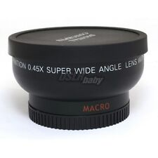 Profession 43mm 0.45x 43 mm Wide Angle + Macro Conversion Camera Lens
