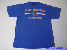 L VINTAGE 1990s KANSAS JAYHAWKS UNIVERSITY SEAL TSHIRT BASKETBALL KU PAUL PIERCE