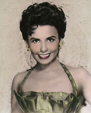 """LENA HORNE JAZZ SINGER AFRICAN AMERICAN ACTRESS 8x10"""" HAND COLOR TINTED PHOTO"""