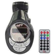 FM Radio Transmitter Car MP3 USB SD MMC LCD Remote - New