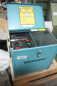 HIPOTRONICS OC60D-A PORTABLE OIL TESTER WORKING