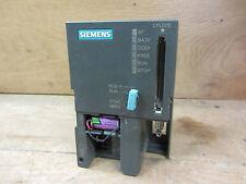 Siemens 6ES7 315-1AF03-0AB0 CPU315 W/ Integrated 24VDC Power Supply Used CSQ