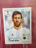 Lionel Messi Argentina 2018 World Cup Panini Sticker