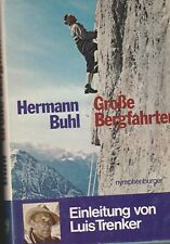 Große Bergfahrten - Hermann Buhl - lebendig beschrieben - mit Original Aufnahmen