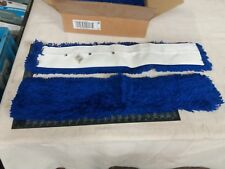 A pair of 70cm Blue Synthetic Addis heads to fit V sweeper frames 3230B