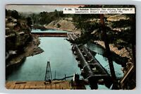 Catskill Mts. Ashokan Reservoir Dam at Brown's Station Vintage New York Postcard