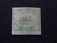 Stamp Sello Canal Maritime de Suez Canal Company Fake? False? (*) 5c Green Ship