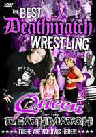 NEW - Best of Deathmatch Wrestling Vol. 4: Queens of the Deathmatch (DVD, 2007)