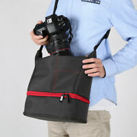 Travel Carry Case SLR DSLR Camera Shoulder Strap Bag Waterproof For Nikon Canon