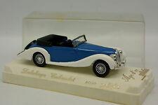 Solido 1/43 - Delahaye Cabriolet Bleue Blanche