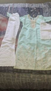 Girls Indian Asian Pakistani Wedding Eid Party Dress special occasion 11-12yrs