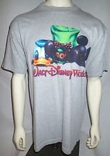 Mickey Mouse T Shirt Large Donald Duck Walt Disney World Gray L