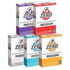 GATORADE ZERO Single Packets SUGAR FREE (10 servings x 1 box) QUICK STICKS DRINK