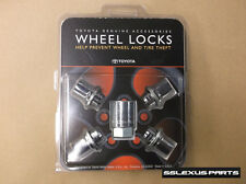 Toyota RAV4 (2010-2017) OEM Genuine WHEEL LOCKS LOCK SET 00276-00900