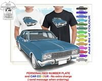 HG BROUGHAM 70-71 CLASSIC ILLUSTRATED T-SHIRT MUSCLE RETRO SPORTS