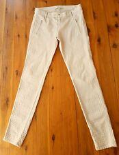 ZARA Skinny Jeans Nude Coloured Size EUR 38/USA 06