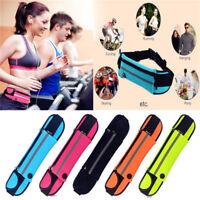 Unisex Waist Belt Bum Bag Jogging Running Travel Pouch Keys Mobile Money DD