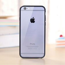 Hard Matte Clear Back Cases with Soft Silicone TPU Bumper Cover for iPhone 5 6 7
