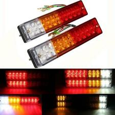 2x 20 LED Stop Brake Rear Tail Light Indicator Reverse Lamp Trailer Truck 12V