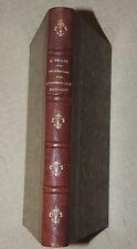 ARMAND BELLEE - RECHERCHES INSTRUCTION PUBLIQUE DEPARTEMENT SARTHE  1875  RARE