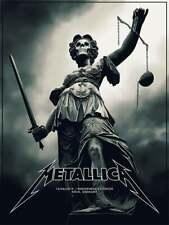 Phantom City Creative Metallica Koln Cologne S/N X/30 Poster Main AP Munich