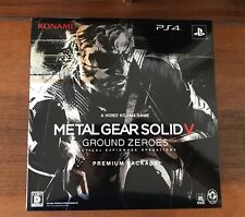 Metal Gear Solid V Ground Zeroes Premium Package Limited Edition PS4 Japan NEW