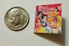 Miniature dollhouse Disney Princess book Barbie 1/12 Scale Snow White Belle