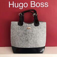 🆕Hugo Boss Grey Tote Bag Women's Shopping New SEALED