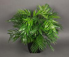 Palmenbusch 48cm x 44cm im schwarzen Dekotopf GA Kunstpflanzen Kunstpalmen