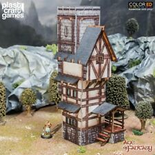 Plast Craft Games Colored Age of Fantasy Scholar´s Tower box new