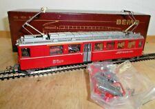 Bemo 1266 126 H0e Bernina Railcars ABE 4/4 No. 46 Tested Boxed