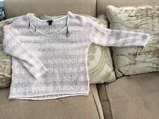 H & M Ladies Wool Jumper Size Small Hardly Worn In Very Good Condition