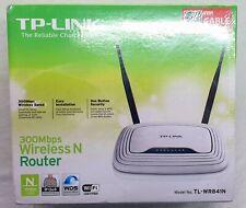Tp-link TL-WR841N 300 Mbps Inalámbrico N Router de cable con antena desmontable no