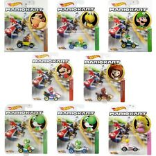 Hot Wheels Nintendo Super Mario Kart - Character and Kart - 8 to Choose From