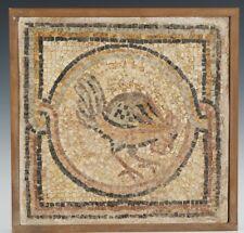 Mosaico . Roma Antigua. Gallo. Siglo Ill d.C.