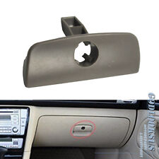 Grey Glove Box Lid Cover Handle with Lock Hole for VW Passat B5 1997-2005