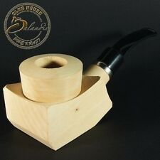 Tobacco Pipe Pear Wood Block BG-BB Pre Drilled Beginner Do It Yourself Kit