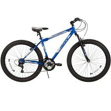 "New 26"" Huffy Men's Fortress 3.0 Mid-Fat Plus Tire Mountain Bike Blue 56926"