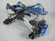 Tamiya 1/10 Clodbuster Front & Rear Axles Motor + Aluminum Chassis + Suspension